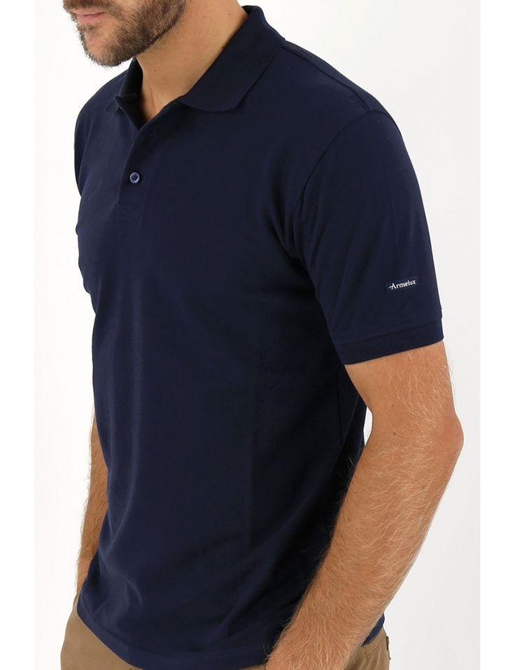 Polo homme - Coton-piqué - Manches courtes
