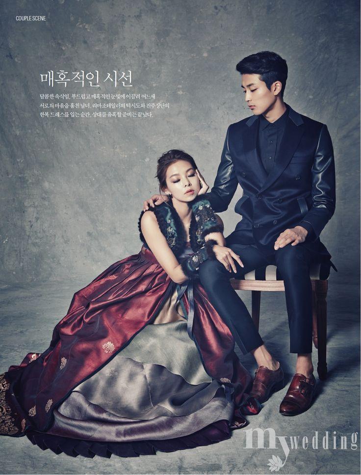 Amazing fusion 한복 Hanbok / Traditional Korean dress