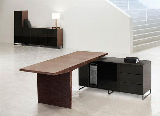 wpid Level T office desk furniture from left side Levet t le mobilier de bureau avec le niveau de Style