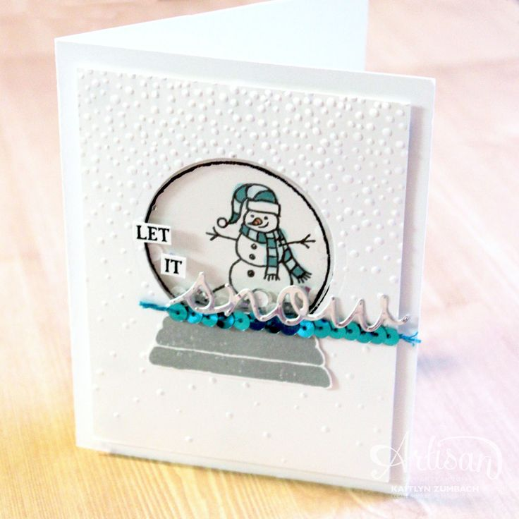 Sparkly Season - Stampin' Up! Artisan Blog Hop: Create with Kaitlyn