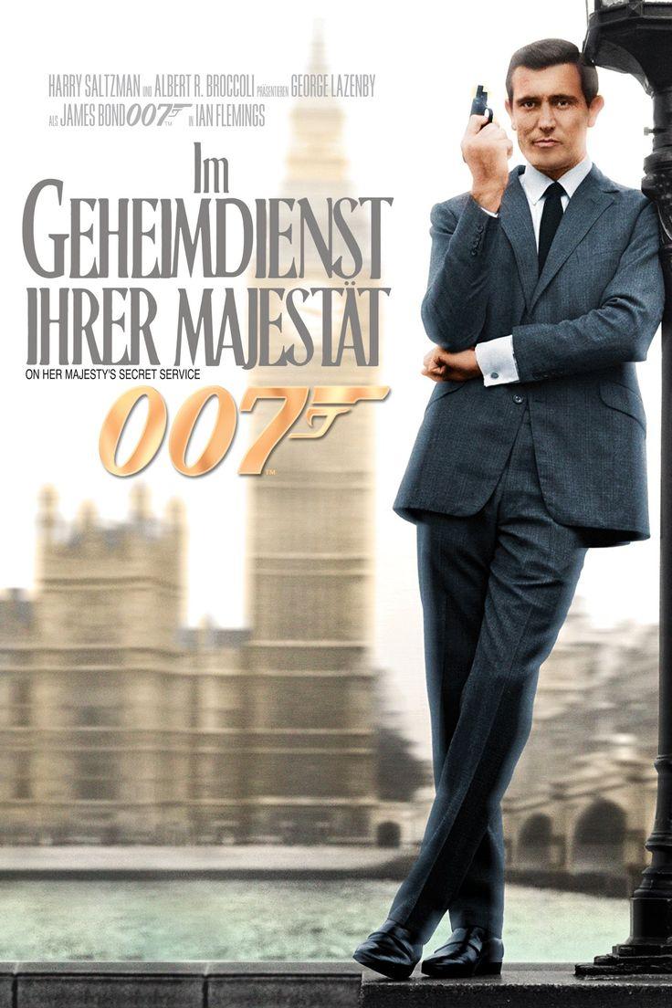 James Bond 007 - Im Geheimdienst Ihrer Majestät (1969) - Filme Kostenlos Online Anschauen - James Bond 007 - Im Geheimdienst Ihrer Majestät Kostenlos Online Anschauen #JamesBond007ImGeheimdienstIhrerMajestät -  James Bond 007 - Im Geheimdienst Ihrer Majestät Kostenlos Online Anschauen - 1969 - HD Full Film - Im Urlaub kann James Bond die junge Tracy Draco gerade noch davon abbringen sich umzubringen. Ihr Vater ein mächtiger Gangsterboss macht daraufhin 007 ein Angebot.