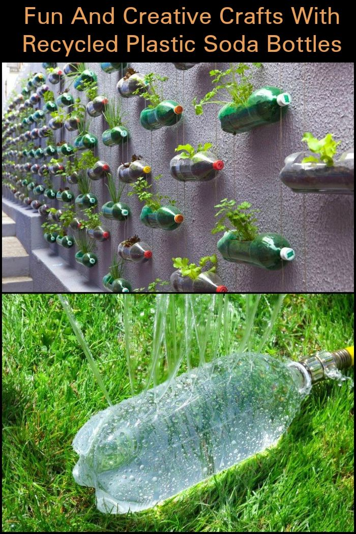 Best 25 soda bottles ideas on pinterest recycled wine for Things that can be made out of plastic bottles