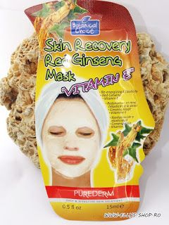Ellys Shop: Masca de fata cu ginseng si vitamina E