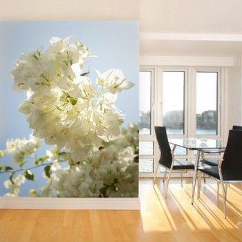 Stijlvol fotobehang in rustige tinten