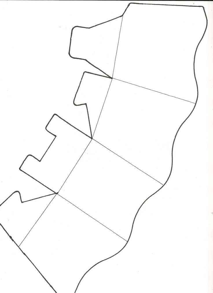 moldes de caixas de papel - Pesquisa Google