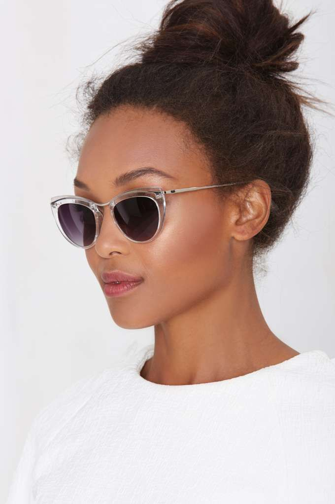 Let's Be Clear Cat-Eye Shades
