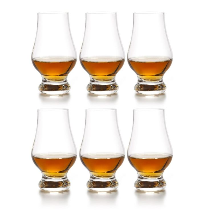 Whiskey Glasses Set of 6 Crystal Drinking Glass Scotch Bourbon Bar Wine Alcohol in Collectibles, Barware, Glasses, Cups, Mugs   eBay