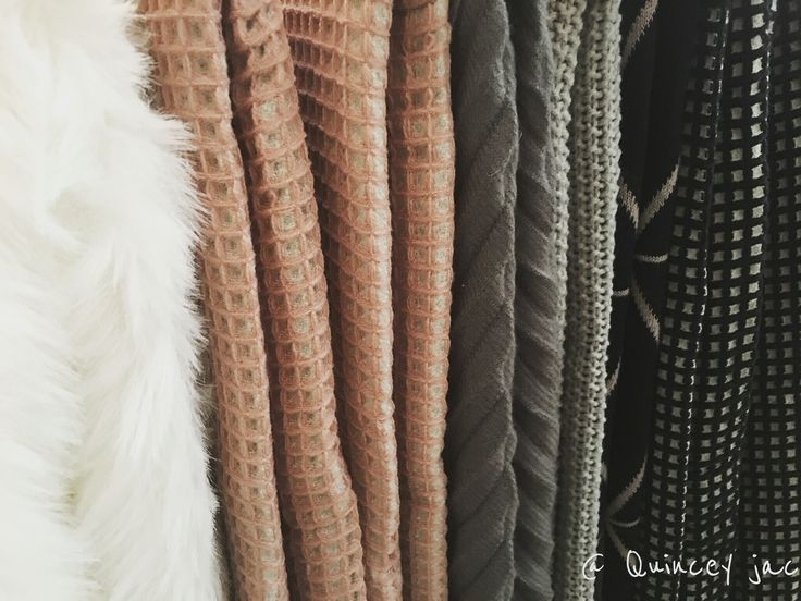 Keep warm with one of our beautiful soft throws #winter #waffleweave #fuxfur #soft #warm #gifts #homedecor #quinceyjac
