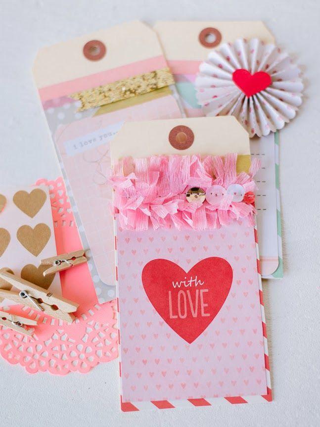 Frases para el d a de san valent n y tarjetas s per - Manualidades decorativas para el hogar ...