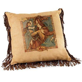 Happy Trails Pillow