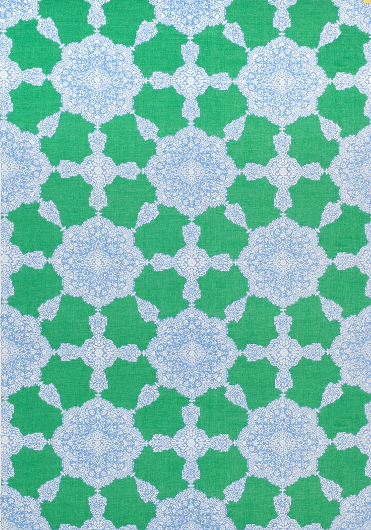 Medallion Paisley Blue And Green F988730 Collection