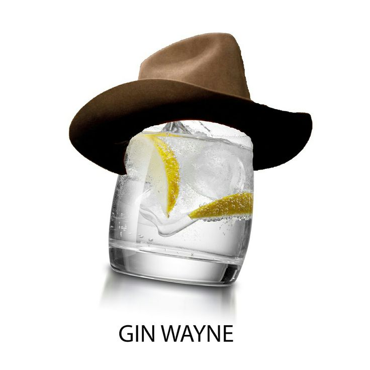 Gin Wayne di Armando Testa