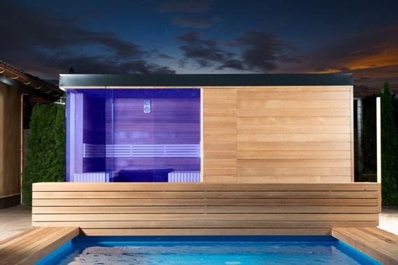 Finnish outdoor sauna