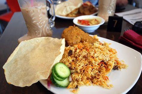 All about Chicken Biryani (Briani Ayam) ~ Singapore Food   Recipes