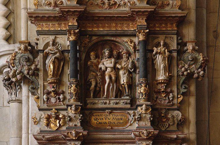 Münster, Westfalen, Paulusdom, epitaph for Bernhard von We… | Flickr