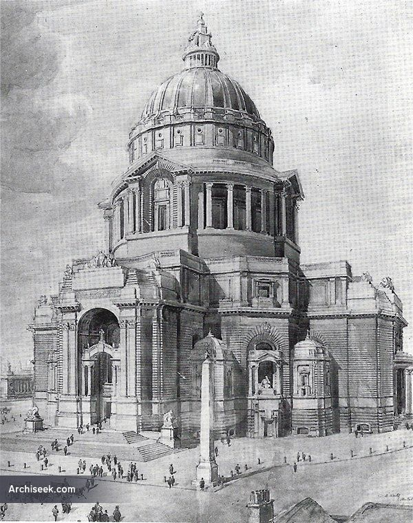 1902 - Design for new Cathedral, Liverpool