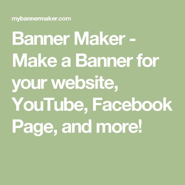 25+ best Facebook banner maker ideas on Pinterest