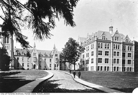What universities used to look like in Toronto.