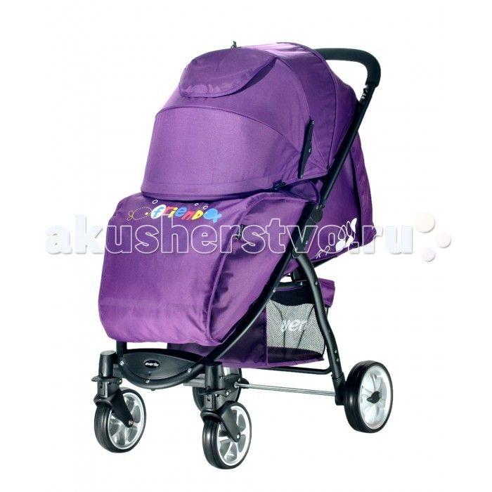 Прогулочная коляска Everflo Friend  Прогулочная коляска Everflo Friend - практичная, комфортная, функциональная коляска, которая станет настоящим другом вашему малышу при  этом отвечая основным запросам родителей. Она сделает передвижение малыша комфортным и безопасным.  Особенности: в разложенном виде коляска превращается в люльку, спальное место которой, по размерам превосходит большинство колясок для новорожденных,  стильный дизайн и приятная расцветка          тканевые элементы выполнены…