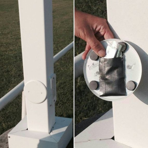 Round White electrical outlet switchplate by geocachesforsale