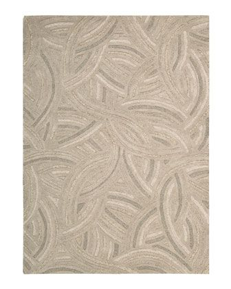 """""""Swirling Sands"""" Rug by Joseph Abboud at Horchow."""