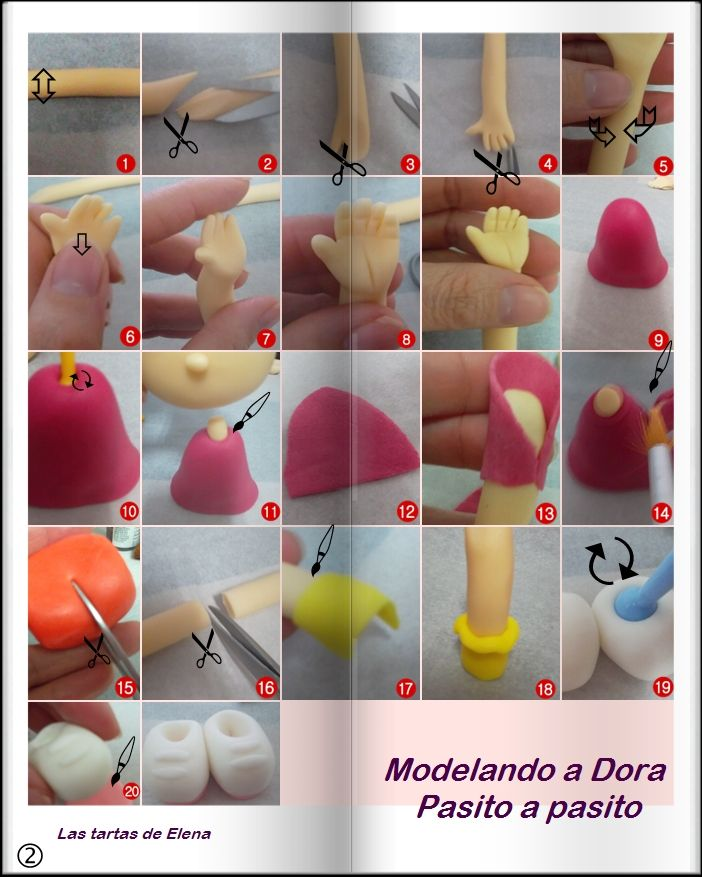 step by step Dora part N°2