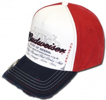Budweiser Hat w/ Bottle Opener