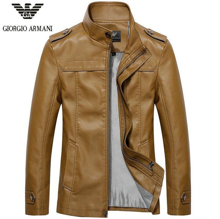 2016 nouveau charme veste en cuir armani homme pas cher hiver parka en cuir 720 717. Black Bedroom Furniture Sets. Home Design Ideas