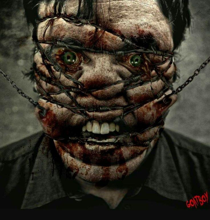 346 Best Horror Gore Guts Images On Pinterest