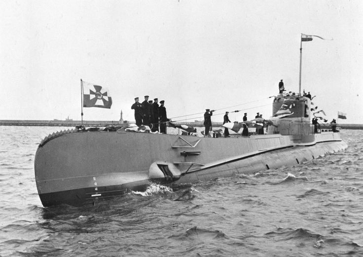 One of the Polish submarimes in service.Orzel.