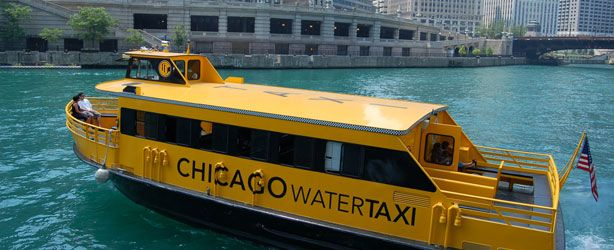 How to get around: if it's warm enough, may jump on for a Chicago River ride.