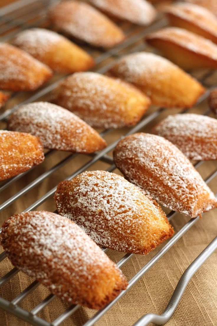 Julia Childs recipe, with honey! Hummingbird on High: Brown Butter & Honey Madeleines