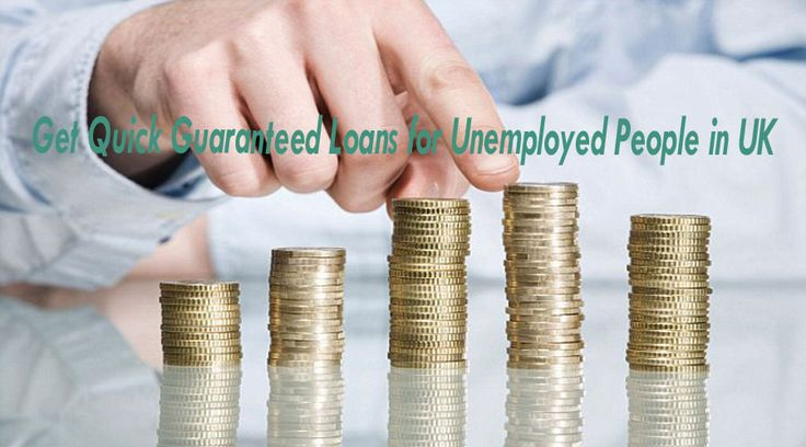With the Guaranteed loans for unemployed people in UK, we are trying to help within their economic condition: http://goo.gl/ZmXXJg
