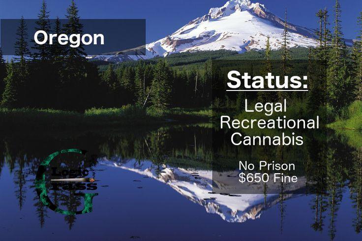 Check out the legal status of marijuana in  Oregon #marijuanalegalization #cannabiscommunity