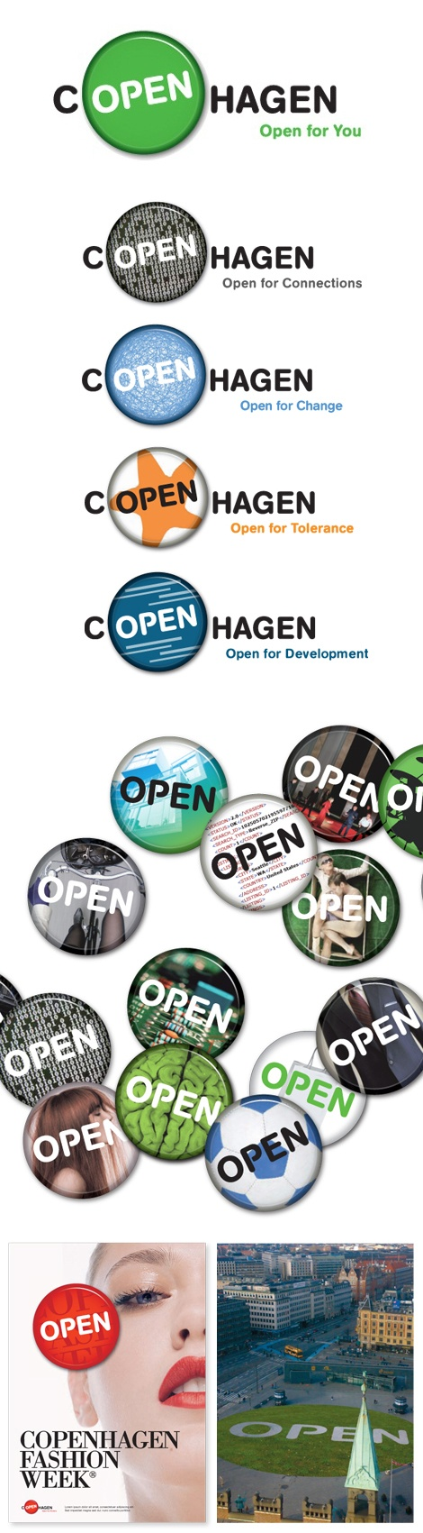 Copenhagen #Identity - such simple, effective & smart #branding