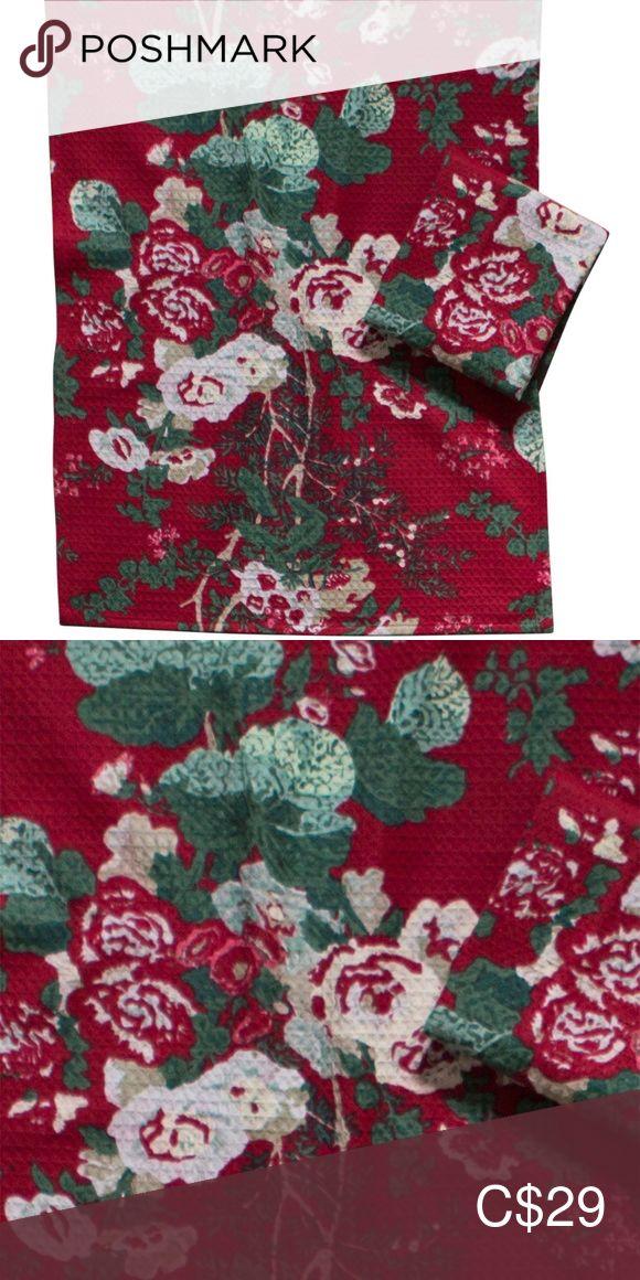 April Cornell Tea Towels Set Of 2 Olivia Bnwt Red Boutique Tea