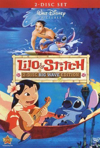 Lilo and Stitch [Big Wave Edition] [2 Discs] [DVD] [2002]