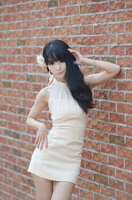 Cutekorean Im Soo Yeon In Mini Dress Fashion