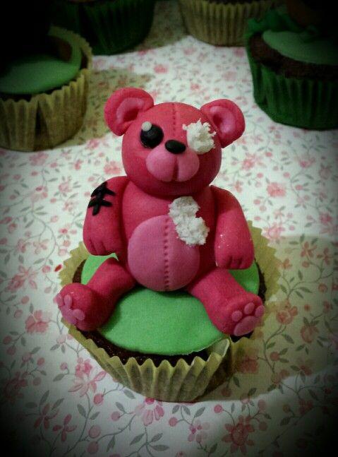 Cupcakes orsetto halloween