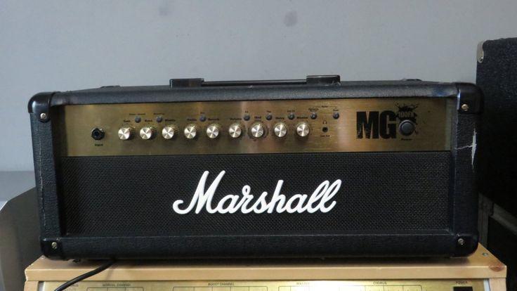 Tête d'ampli Marshall Mg 100 Fx