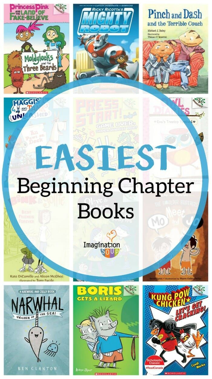 Early Reader Chapter Books With Pictures
