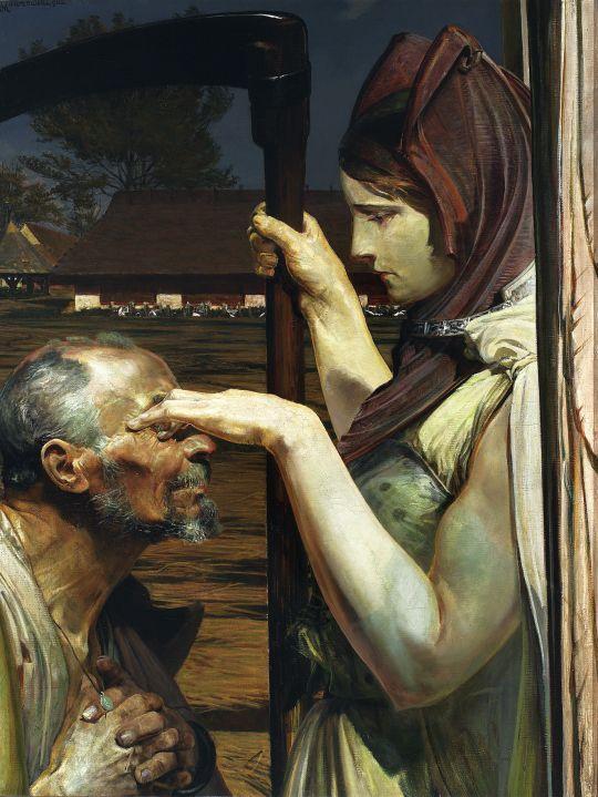 Jacek Malczewski. Death, 1902
