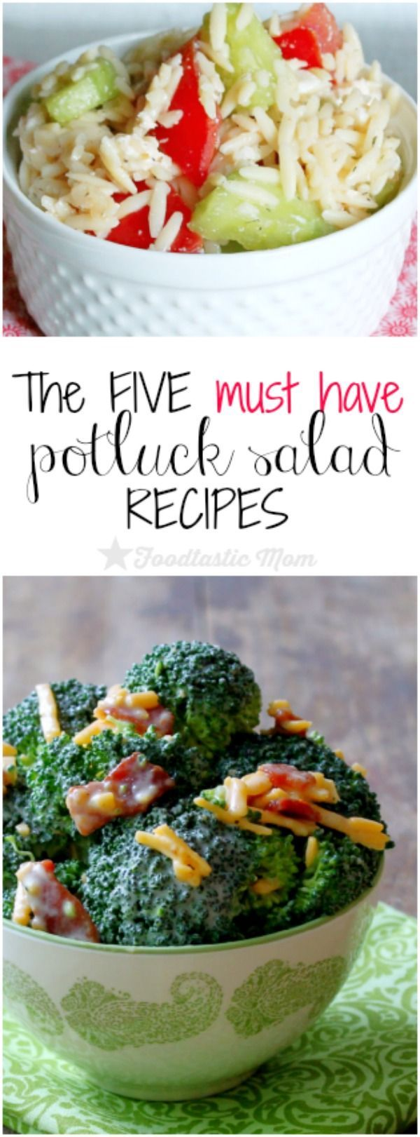 The Five Must Have Potluck Salad Recipes