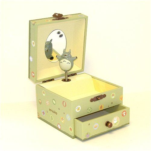 Studio Ghibli My Neighbor Totoro Music Box with a Drawer