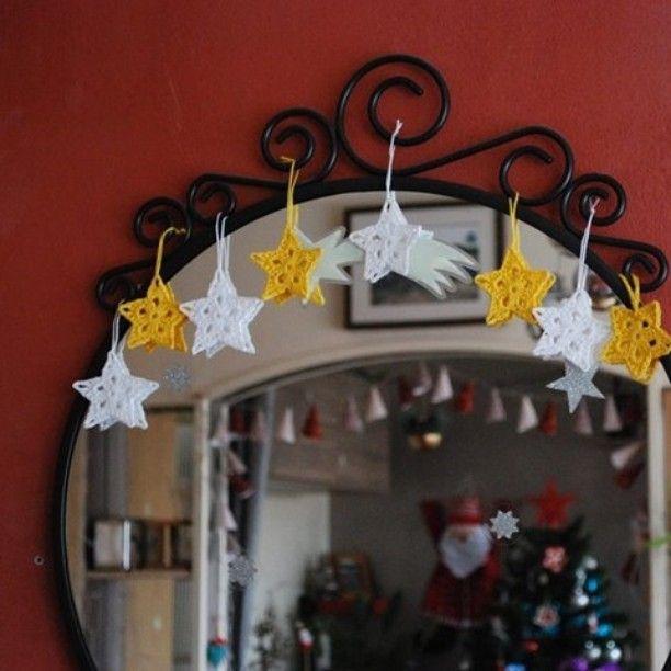 #étoiles ✨ #todoit #crochet #Nantes #noël #instcrochet