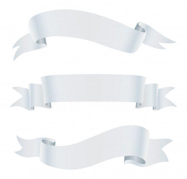 Belaya Lenta Bannery Ribbon Png White Ribbon Ribbon Banner