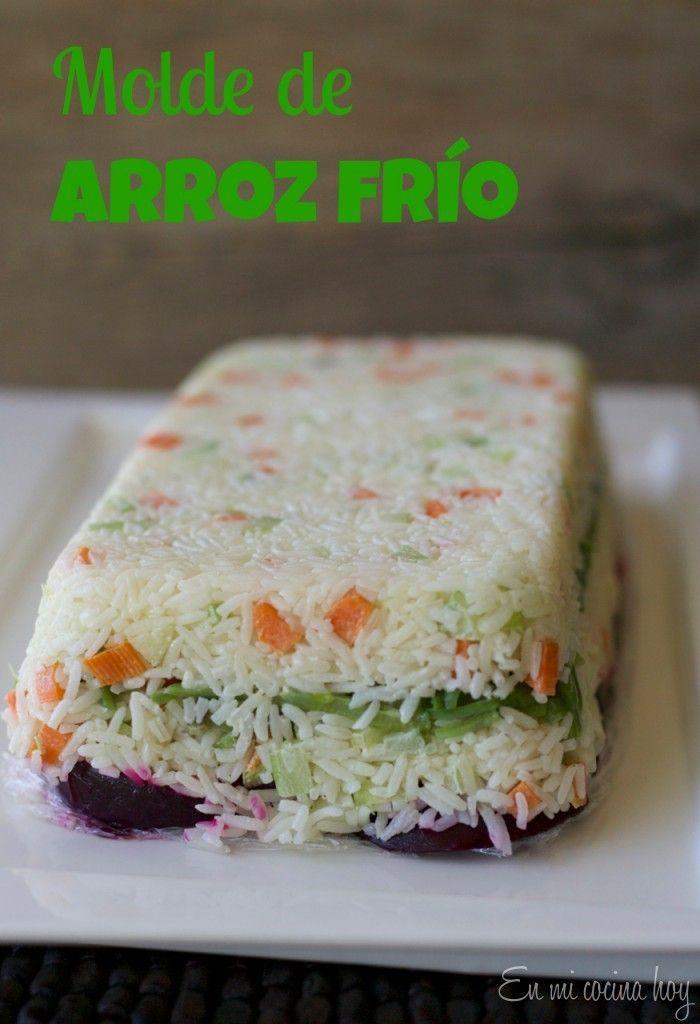 Entrada fría de arroz / Fancy rice salad | En mi cocina hoy