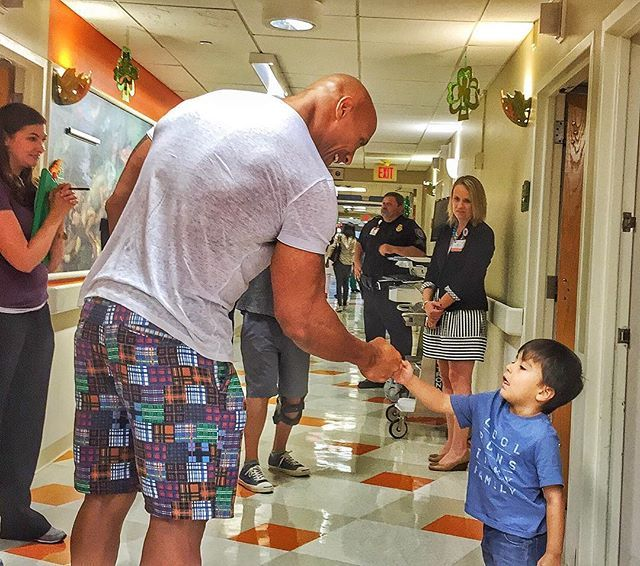Pin for Later: Simply Put, We Love Dwayne Johnson, and Here Are All the Reasons He has a heart of gold.