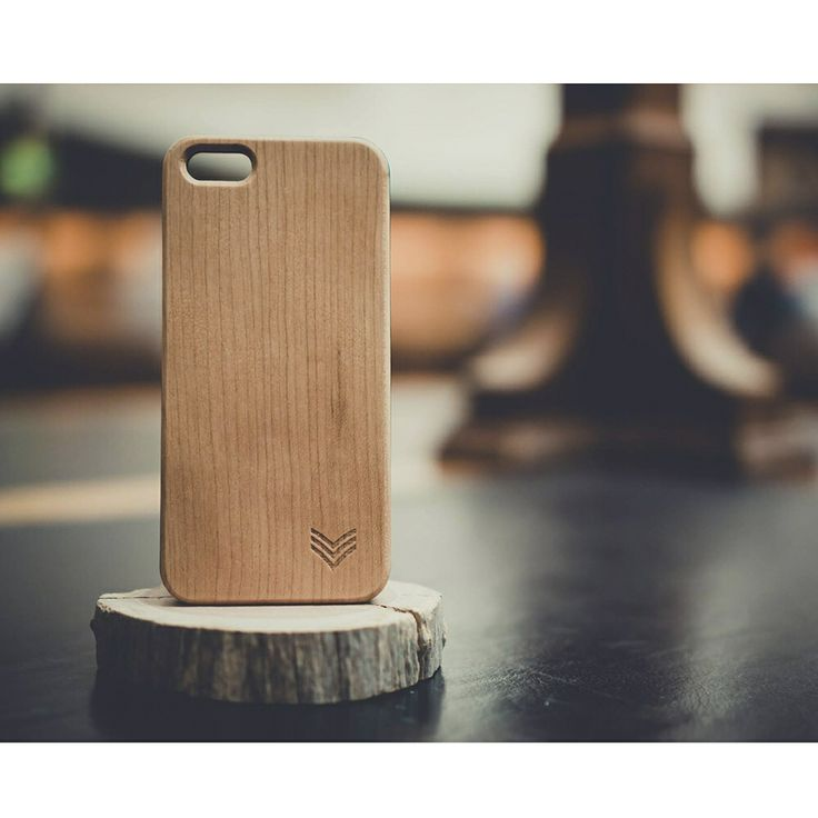 Our collaboration Natural Aspirations i-phone 5 case in maple wood
