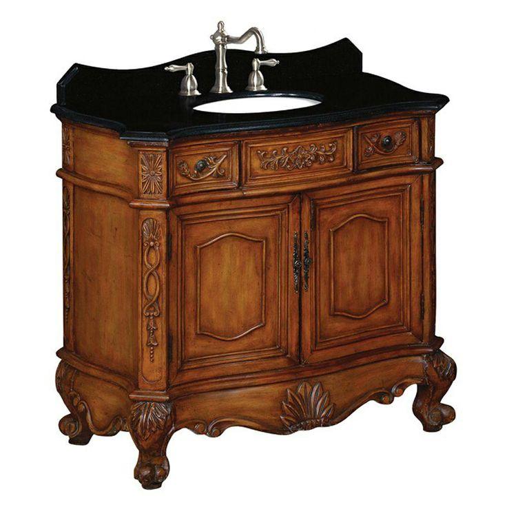Web Image Gallery Belle For t BFR in Single Basin Bathroom Vanity with Granite Vanity Top